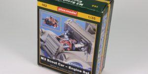 M3 Scout Car Engine Set – plusmodel 1/35