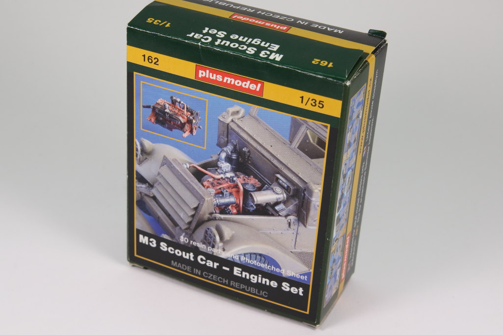 plusmodel_M3_Engine_01 M3 Scout Car Engine Set - plusmodel 1/35
