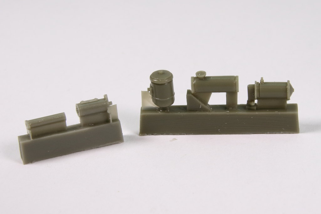plusmodel_M3_Engine_07 M3 Scout Car Engine Set - plusmodel 1/35