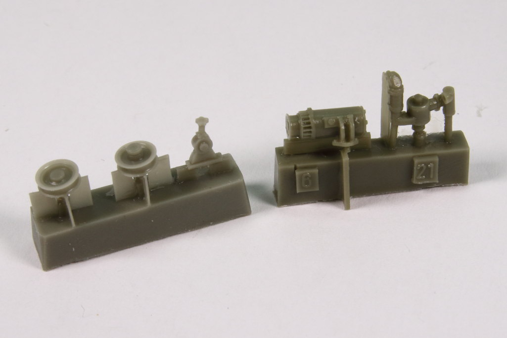 plusmodel_M3_Engine_12 M3 Scout Car Engine Set - plusmodel 1/35