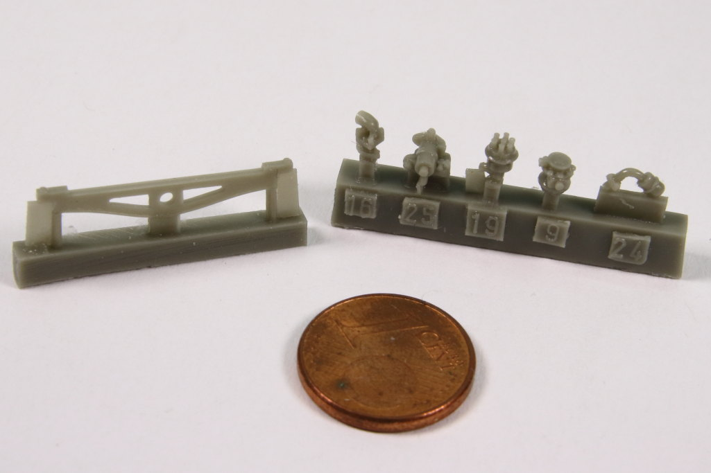 plusmodel_M3_Engine_14 M3 Scout Car Engine Set - plusmodel 1/35