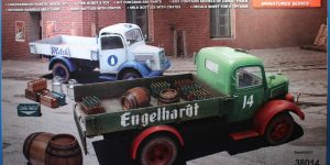 German Cargo Truck L1500S in 1:35 von Miniart