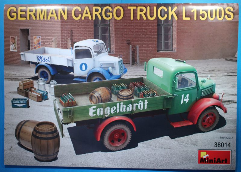 tiny_IMG_2744 German Cargo Truck L1500S in 1:35 von Miniart