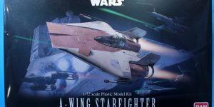 Star Wars A-Wing Starfighter von Bandai in 1:72