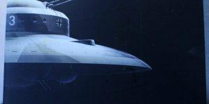 Haunebu II German Flying Saucer von Squadron in 1:72