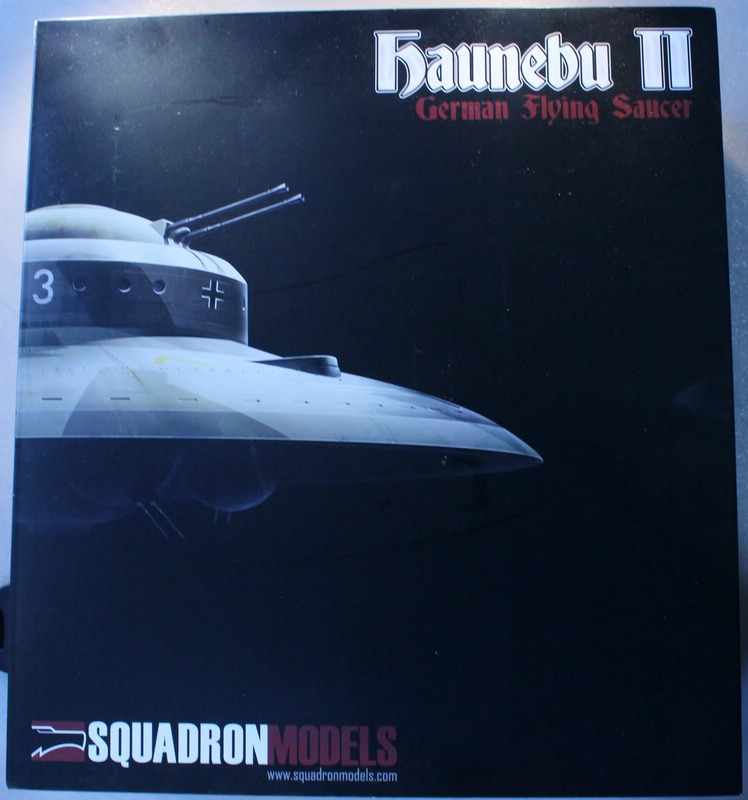 tiny_IMG_2792 Haunebu II German Flying Saucer von Squadron in 1:72