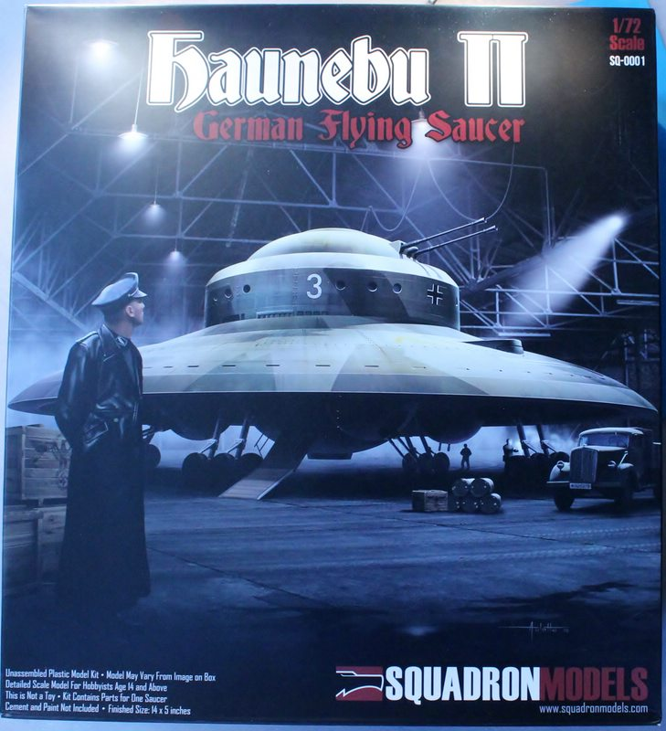 tiny_IMG_2793 Haunebu II German Flying Saucer von Squadron in 1:72