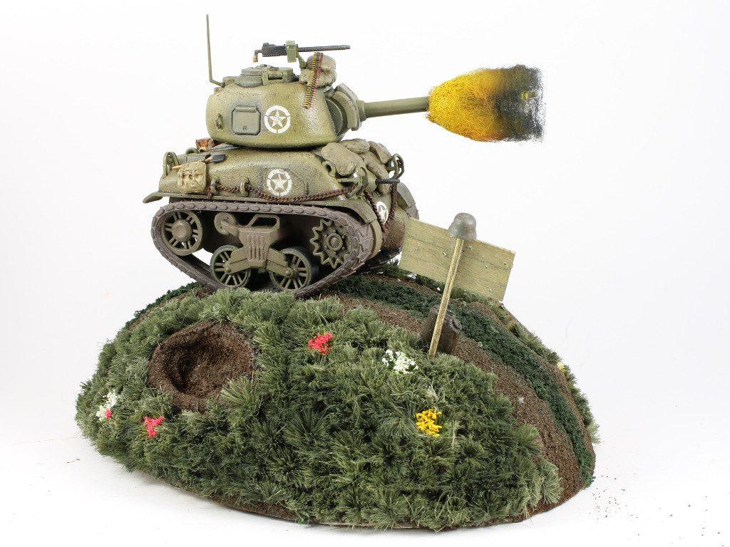 03-2-1024x768 World War Toons Sherman U.S. Medium Tank M4A1 Meng Model (#WWT-002)