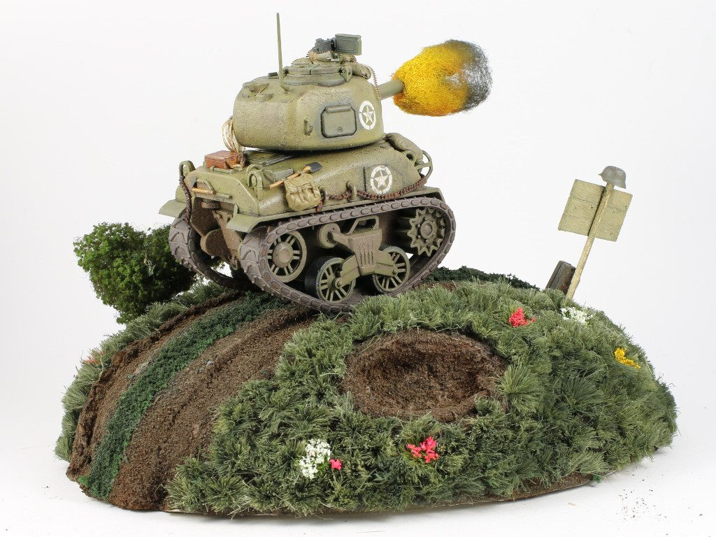 04-2-1024x768 World War Toons Sherman U.S. Medium Tank M4A1 Meng Model (#WWT-002)