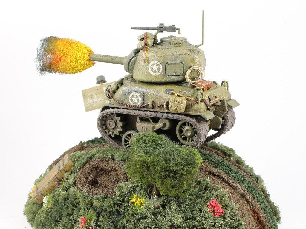 06-2-1024x768 World War Toons Sherman U.S. Medium Tank M4A1 Meng Model (#WWT-002)