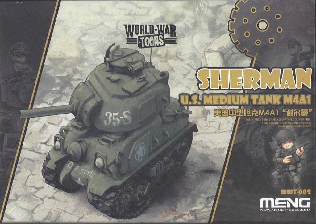 Anleitung-1-1024x728 World War Toons Sherman U.S. Medium Tank M4A1 Meng Model (#WWT-002)
