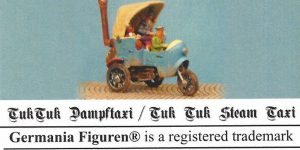 Tuk Tuk Dampftaxi 1:72 Germania Figuren (#GF 72-Steam 008)