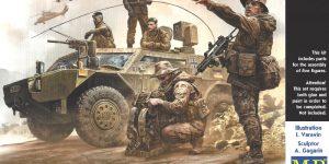 Bundeswehr. German Military Men, Present Day 1:35 Master Box (#35195)