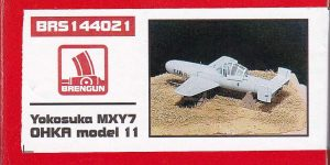 Yokosuka MXY-7 Ohka Model 22 im Maßstab 1:144 von Brengun BRP 144021