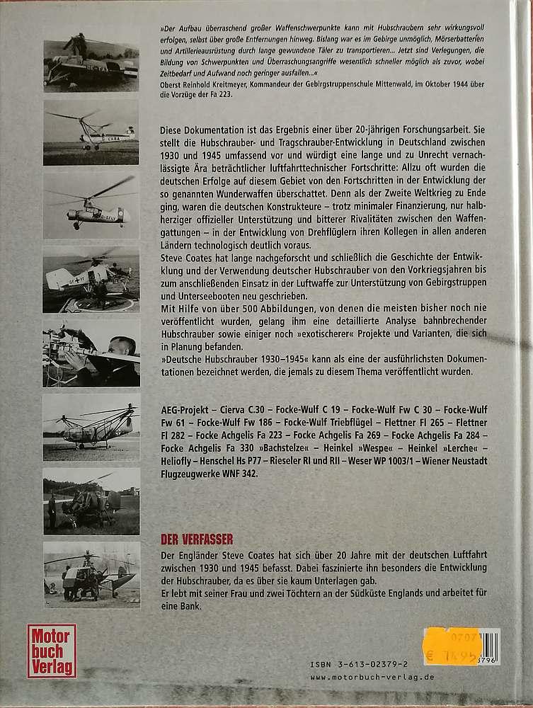 Coates-Steve-Deutsche-Hubschrauber-1930-bis-1945-2 Steve Coates: Deutsche Hubschrauber 1930 bis 1945