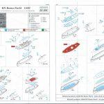 Eduard-53201-RN-ROMA-Anleitung-1-150x150 Detailset Reling für die Roma (Trumpeter) im Maßstab 1:35 von Eduard 53201