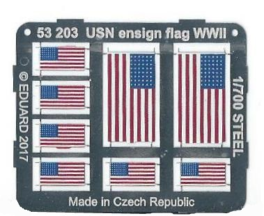 Eduard-53203-US-Ensign-Flags-Platine US Ensign Flag World War II von Eduard 53203