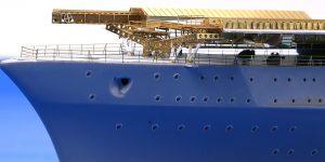 Details für die Graf Zeppelin in 1:350 von Eduard 53204 und 53205