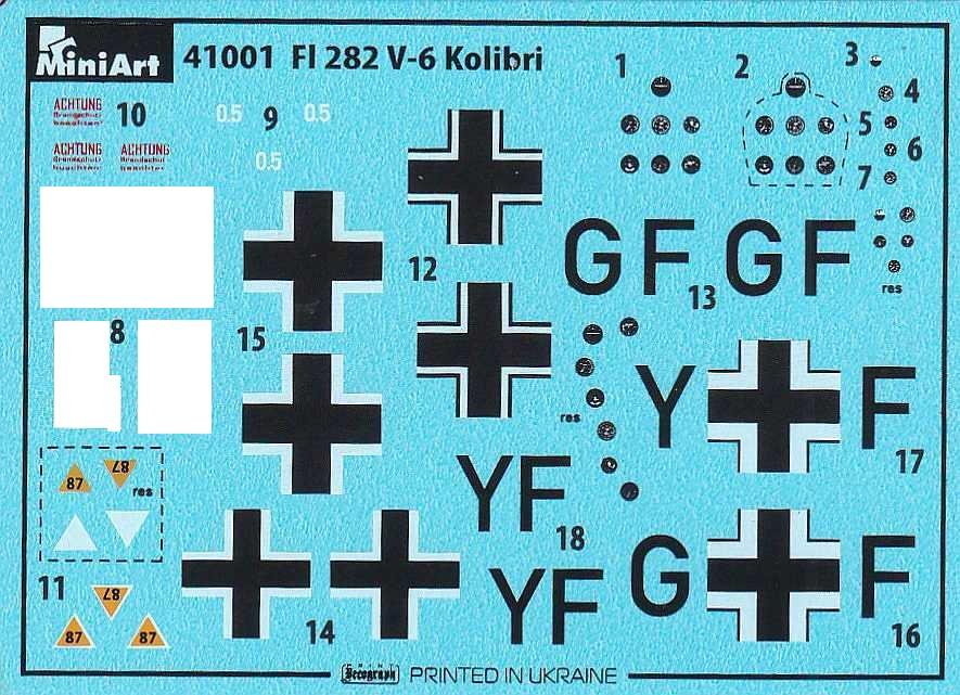 MiniArt-41001-Fl-282-V6-Kolibri-13-1 Flettner Fl 282 V-6 Kolibri im Maßstab 1:35 von MiniArt 41001