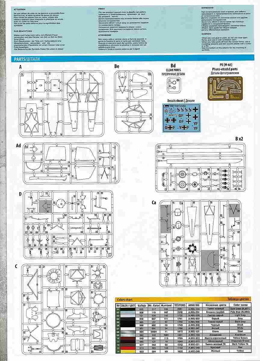 MiniArt-41001-Fl-282-V6-Kolibri-18 Flettner Fl 282 V-6 Kolibri im Maßstab 1:35 von MiniArt 41001