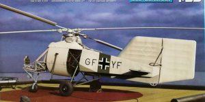 Flettner Fl 282 V-6 Kolibri im Maßstab 1:35 von MiniArt 41001