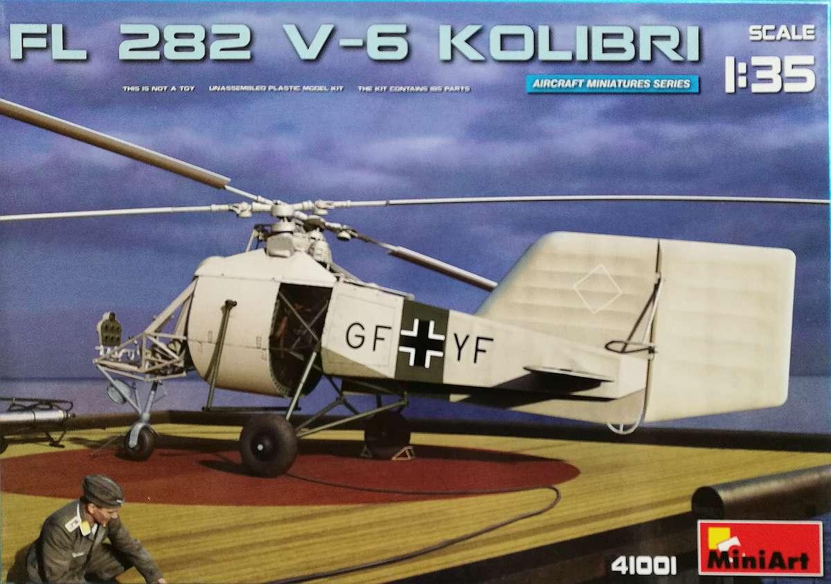 MiniArt-41001-Fl-282-V6-Kolibri-Deckelbild Flettner Fl 282 V-6 Kolibri im Maßstab 1:35 von MiniArt 41001