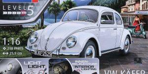 """VW Käfer Bj. 1951/52 im Maßstab 1:16 """"Technik"""" Revell 00450"""