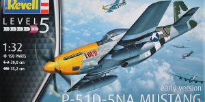 P-51D Mustang (early version) im Maßstab 1:32 von Revell 03944
