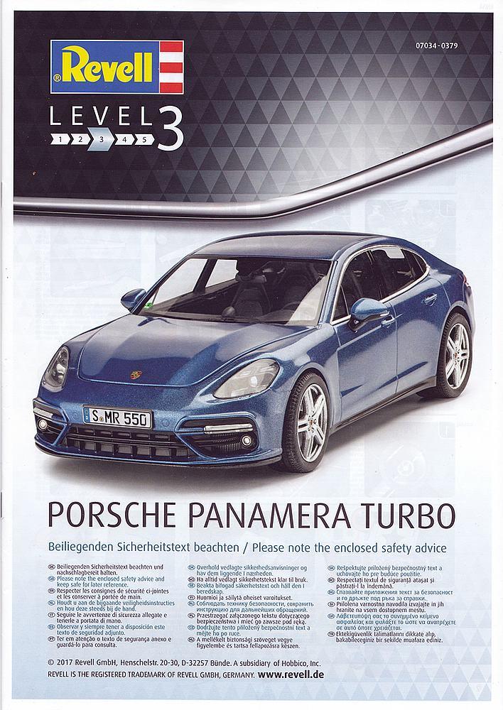 Revell-07034-Porsche-Panamera-Turbo-7 Porsche Panamera Turbo in 1:24 Revell 07034