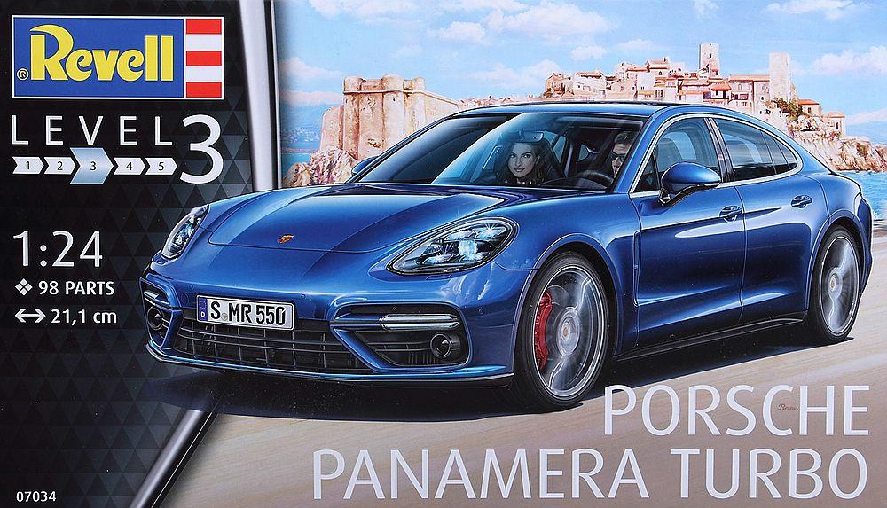 Revell-07034-Porsche-Panamera-Turbo-8 Porsche Panamera Turbo in 1:24 Revell 07034