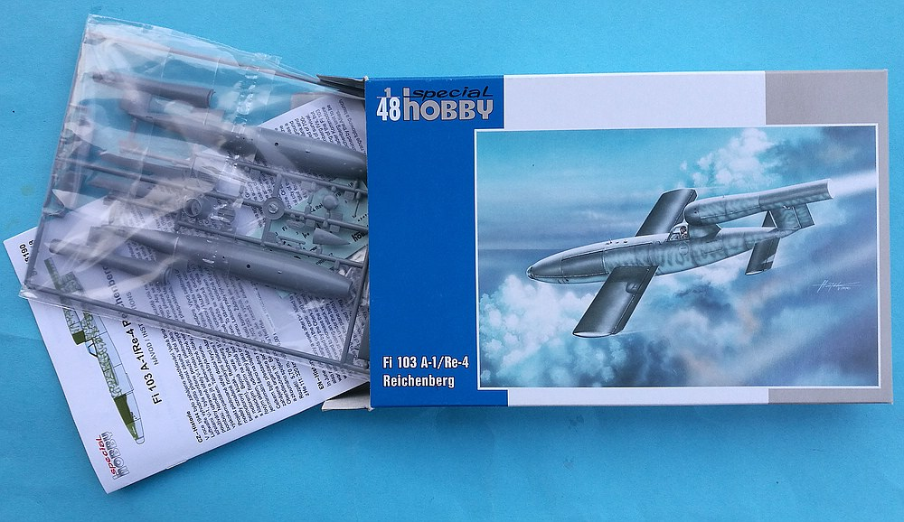 Special-Hobby-SH-48190-Fi-103A-1-Re-4-Reichenberg-14 Fiseler Fi 103A-1 / Re-4 Reichenberg (bemannte V1) von Special Hobby SH 48190