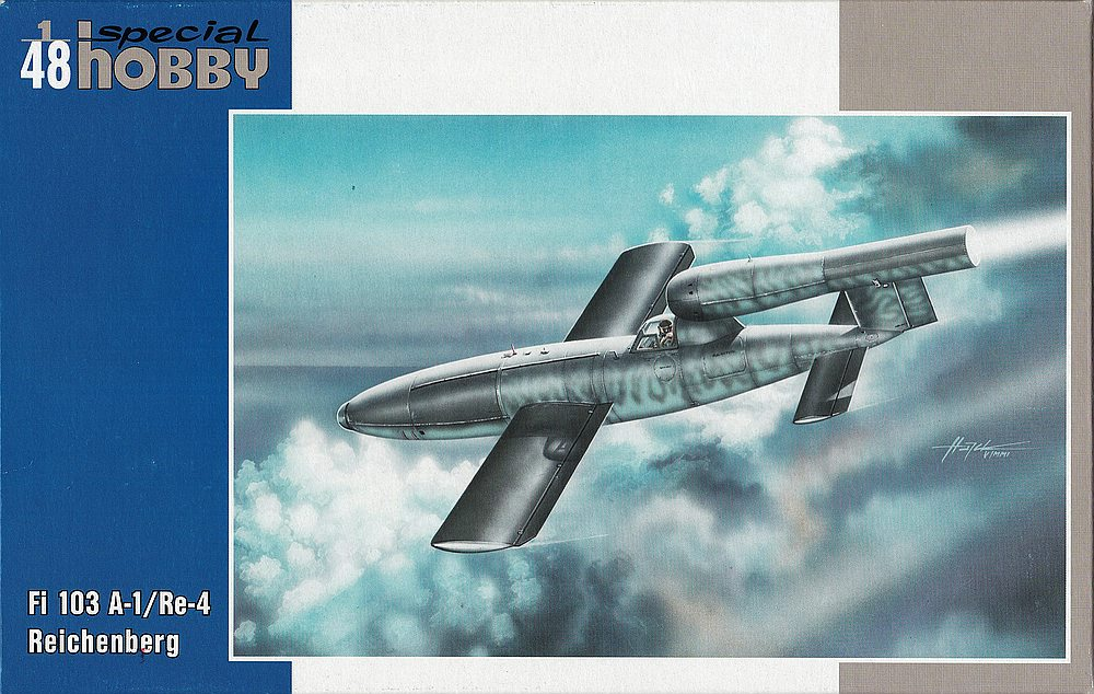 Special-Hobby-SH-48190-Fi-103A-1-Re-4-Reichenberg-3 Fiseler Fi 103A-1 / Re-4 Reichenberg (bemannte V1) von Special Hobby SH 48190