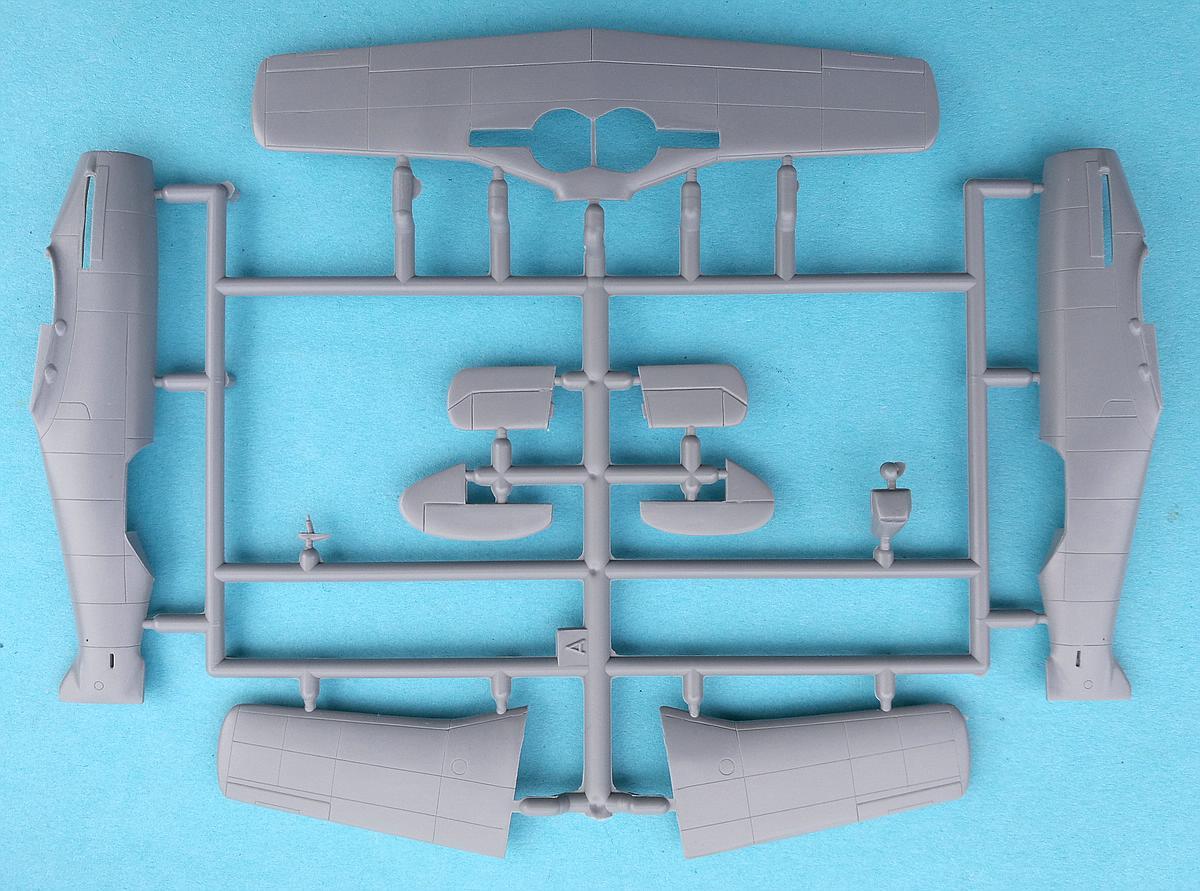 Special-Hobby-SH-72138-Messerschmitt-Me-209V1-23 Messerschmitt Me 209 V1 im Maßstab 1:72 von Special Hobby SH 72138
