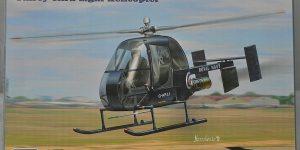 Fairey Ultra Light Helicopter im Maßstab 1:72 von AMP 72002