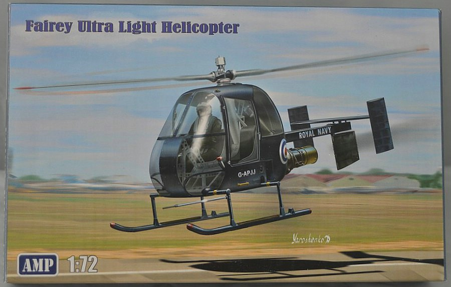 AMP-72002-Fairey-Ultra-Light-Helicopter-2 Fairey Ultra Light Helicopter im Maßstab 1:72 von AMP 72002