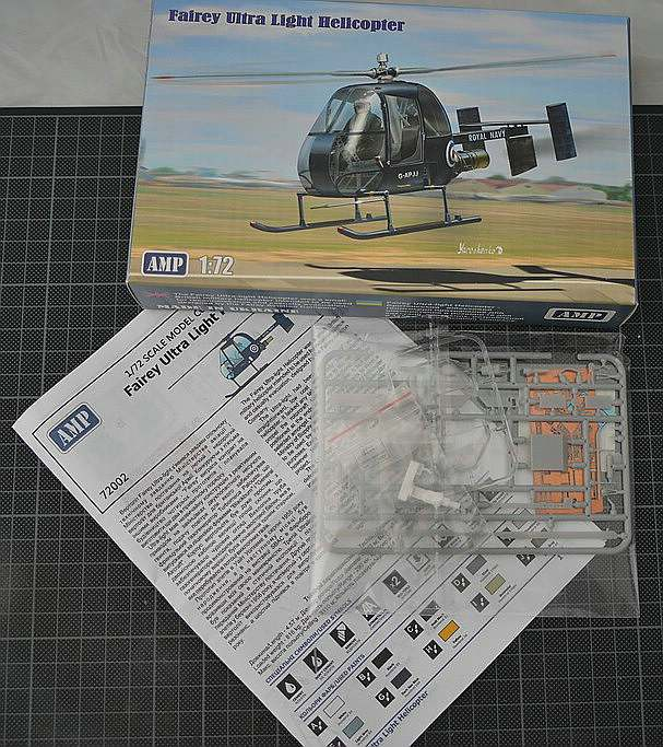 AMP-72002-Fairey-Ultra-Light-Helicopter-4 Fairey Ultra Light Helicopter im Maßstab 1:72 von AMP 72002