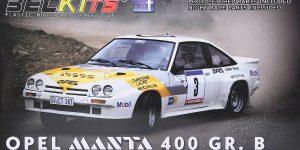 Opel Manta 400 Gr. B Tour de Corse 1984 in 1:24 von BelKits BEL-008