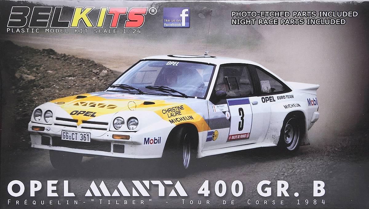 BelKits-BEL-008-OPEL-Manta-Gr-B-Tour-de-Corse-84-1 Opel Manta 400 Gr. B Tour de Corse 1984 in 1:24 von BelKits BEL-008