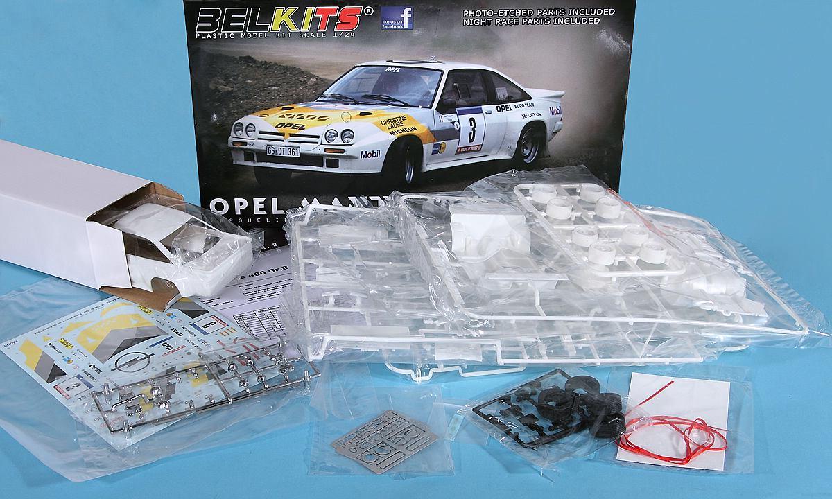BelKits-BEL-008-OPEL-Manta-Gr-B-Tour-de-Corse-84-27 Opel Manta 400 Gr. B Tour de Corse 1984 in 1:24 von BelKits BEL-008