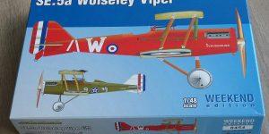SE.5a Wolseley Viper WEEKEND im Maßstab 1:48 von Eduard 8454