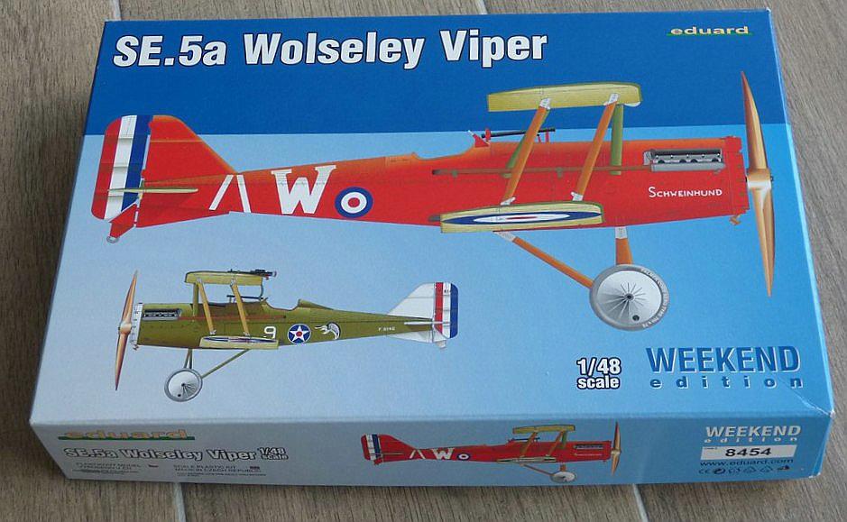 Eduard-8454-SE.5a-WEEKEND-1 SE.5a Wolseley Viper WEEKEND im Maßstab 1:48 von Eduard 8454