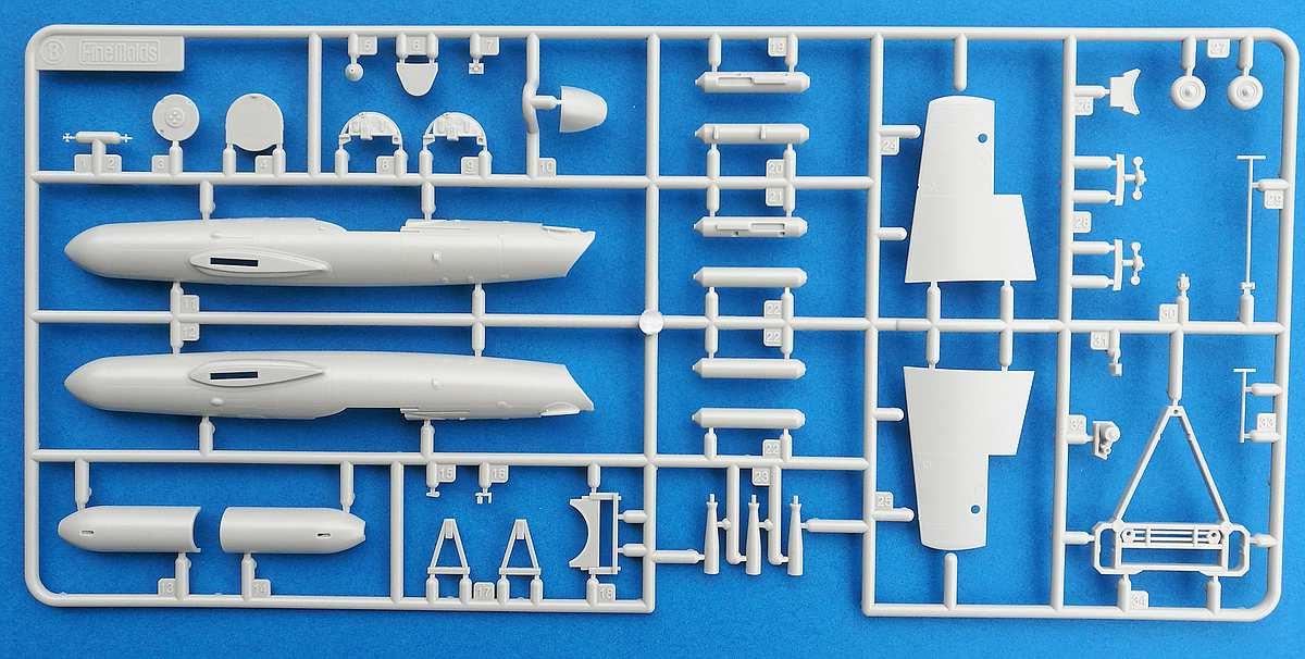 Fine-Molds-FB-15-Yokosuka-MXY7-Ohka-Typ-11-2 Yokosuka MXY 7 Ohka 11 im Maßstab 1:48 von Fine Molds FB 15