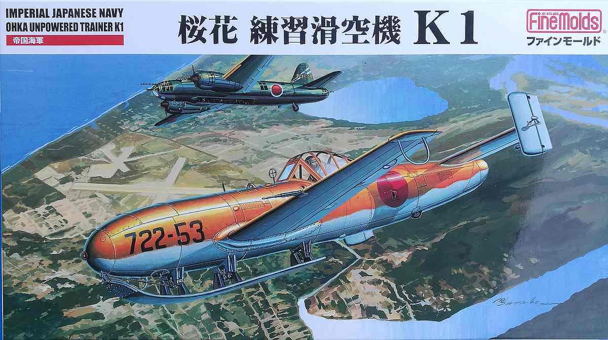 Fine-Molds-FB-16-Yokosuka-Ohka-K1-16 Yokosuka Ohka K1 Trainer im Maßstab 1:48 von Fine Molds FB 16