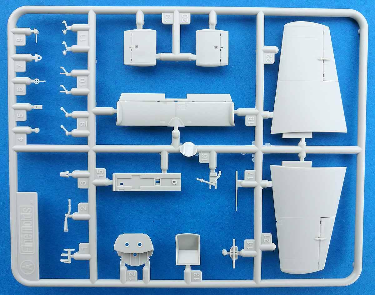 Fine-Molds-FB-16-Yokosuka-Ohka-K1-18 Yokosuka Ohka K1 Trainer im Maßstab 1:48 von Fine Molds FB 16