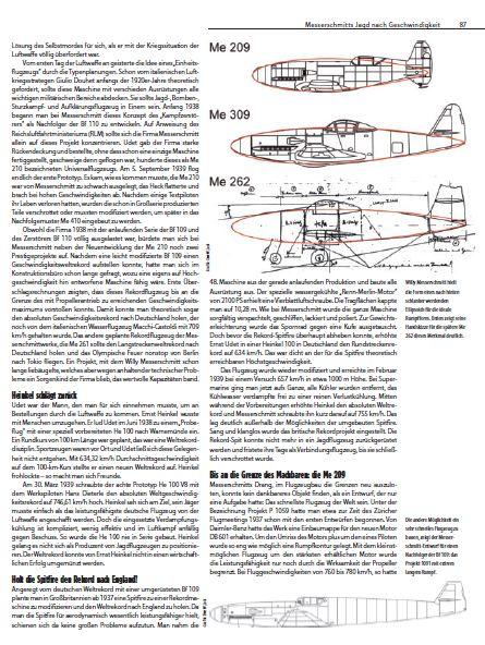 Messerschmitt-Me-209-FR-X-Artikel-1 26. April 1939 - absoluter Geschwindigkeitsweltrekord für Me 209 V1