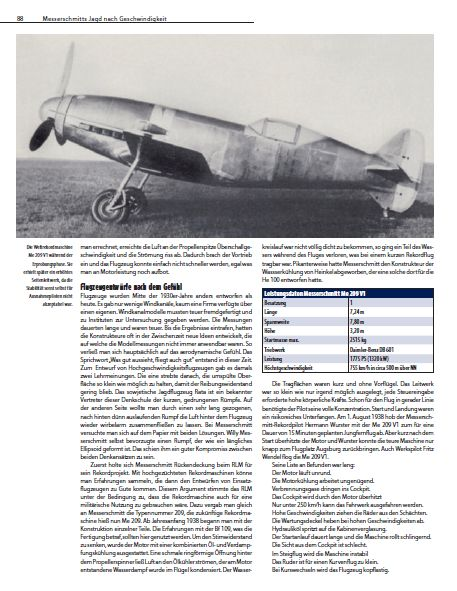 Messerschmitt-Me-209-FR-X-Artikel-2 26. April 1939 - absoluter Geschwindigkeitsweltrekord für Me 209 V1