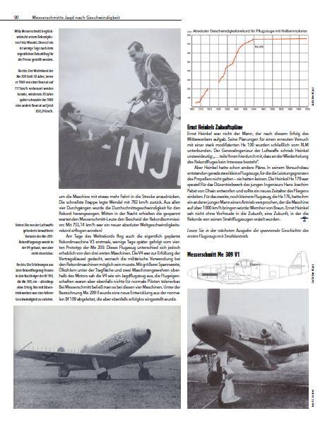 Messerschmitt-Me-209-FR-X-Artikel-3 26. April 1939 - absoluter Geschwindigkeitsweltrekord für Me 209 V1