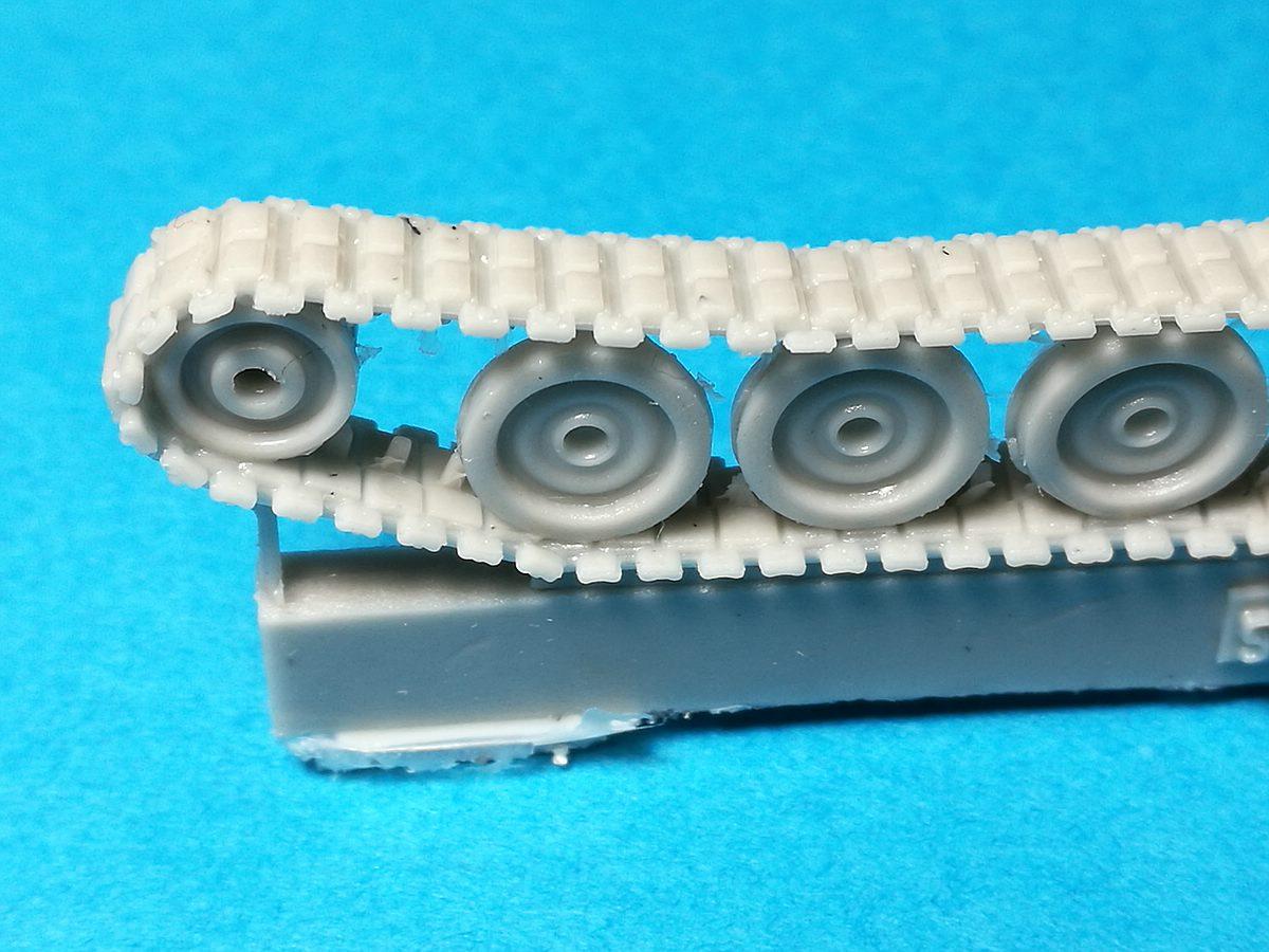 ModellTrans-MT-72501-M109G-Laufwerk-6 Tracked Gear Set Quickkit (Laufwerk) für M109G in 1:72 von ModellTrans MT 72501