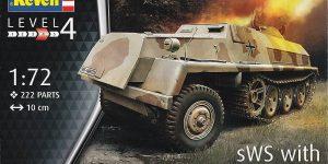sWS mit 15cm Panzerwerfer42 im Maßstab 1:72 von Revell 03264