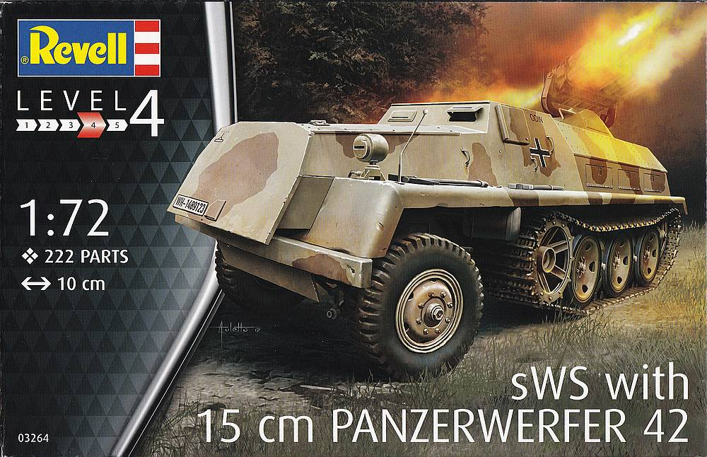Revell-03264-sWS-with-15cm-Panzerwerfer42-18 sWS mit 15cm Panzerwerfer42 im Maßstab 1:72 von Revell 03264